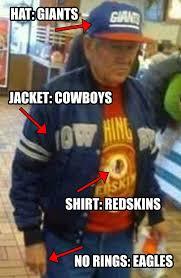 Funny Washington Redskins Memes - redskins nfl eagles superbowl funny washington redskins