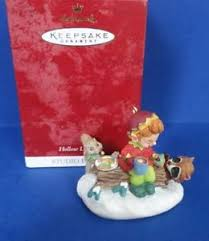 1999 hollow log cafe hallmark retired club exclusive retired