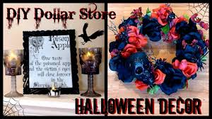 diy halloween decor dollar store goth decor skull u0026 rose