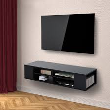 Modern Wall Mounted Entertainment Center Homcom 47