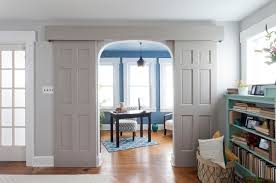 interior barn doors laundry room shabby chic with farmhouse sink