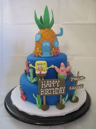 spongebob squarepants cake spongebob squarepants cake spongebob squarepants birthday flickr