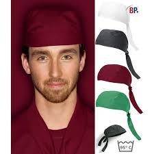 bandana cuisine calots bandanas et coiffes de cuisine et de service biomidi
