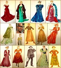 brown costume look at the unsinkable molly brown costume designs