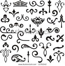 ornamental design elements vector series stock vector 21791542