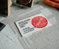 Make My Own Business Card Business Card Stamp Custom Rubber Stamp Custom Stamp Personalized