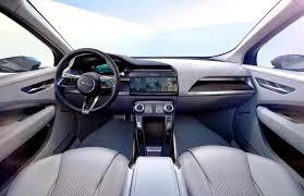 jaguar f pace inside 2018 jaguar i pace specs price overview and rumors
