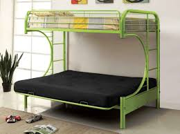 green twin over futon metal bunk bed designs miscellaneous of