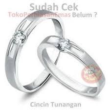 cincin online cincin kawin afzara perak lapis emas sepasang wedding rings