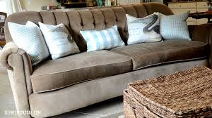 slightly coastal my phenomenal arhaus sofa and forever pieces