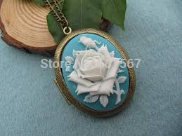 victorian cameo necklace images Wholesale rose cameo locket necklace love rose cameo jewelry jpg