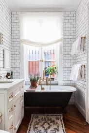 black white bathroom white tile bathroom subway tile art