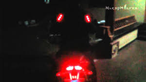 cycling jacket with lights diy led motorcycle jacket youtube