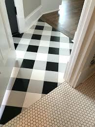 Checkerboard Vinyl Floor Tiles by Black And White Floor Tiles U2013 Jdturnergolf Com