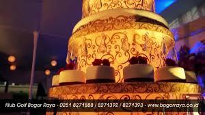 wedding cake bogor golf wedding klub golf bogor raya