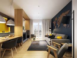 livingroom modern a modern scandinavian inspired apartment with ingenius features
