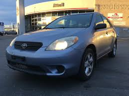 blue station wagon used 2005 toyota matrix 4 door station wagon in brampton on 39491a
