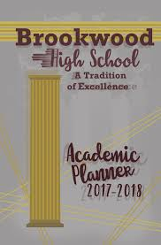 high school agenda student agenda book student brookwood high school
