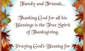 thanksgiving prayers family thanksgiving blessings