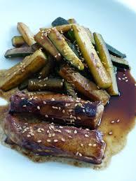 cuisiner de la courgette filets de lapin et courgette à l asiatique philandcocuisine