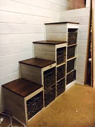 ikea stairs trofast storage to sturdy stair conversion ikea hackers