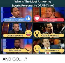 Stephen A Smith Memes - who is the most annoying sports personality of all time stephen a