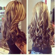 hair styles brown on botton and blond on top pictures of it light up top dark on bottom hairtastic pinterest dark