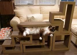 Cat Lounge Scratcher Furniture Cool Design Of Cat Scratcher House For Pet Furniture Ideas