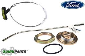 ford 7 3l v8 diesel oil pan dipstick tube inner u0026 outer nut