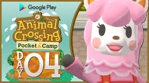 animal crossing pocket camp part 4 exploring the campsite