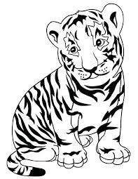 coloring page tigers sabre tooth tiger coloring page kartech