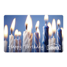 shop happy birthday gift card at lowes