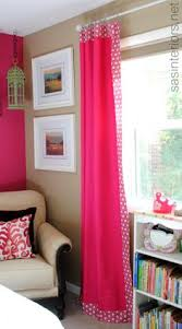 Decorative Trim For Curtains Solution For Adding Curtains For A Window And A Door On The Same