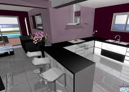 modele de cuisine ouverte sur salon enchanteur cuisines ouvertes sur salon photos et modele