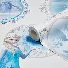 Frozen Elsa Bedroom Disney Disney Frozen Blue U0026 Purple Elsa Mica Effect Wallpaper