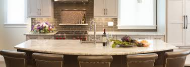 kitchen bath gallery design showrooms remodeling ma ri ct kitchen bath gallery half circle breakfast bar island