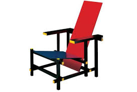 Armchairs Nz Red And Blue Armchair By Gerrit Thomas Rietveld For Cassina