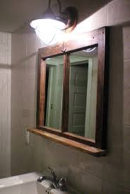 Frame A Bathroom Mirror With Molding by Best 25 Bathroom Mirror With Shelf Ideas On Pinterest Framing