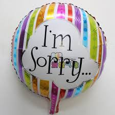 balloon wholesale wholesale 18 inch i am sorry foil balloon birthday party