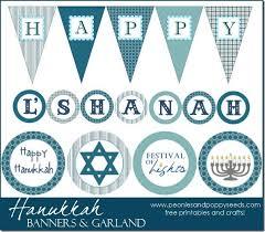 hanukkah banner hanukkah banner and garland peonies and poppy seeds hanukkah