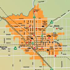 map of fresno zip code map fresno ca zip code map