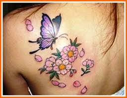 butterfly flower designs popular design