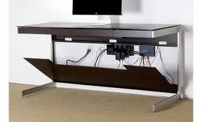 Espresso Desk With Hutch Bdi Sequel 6001 Desk Espresso Stained Oak 60
