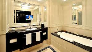 hotel bathroom ideas luxury hospitality interior design with mirror image lcd tv by ad