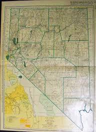 Nevada County Map Prints Old U0026 Rare Nevada Page