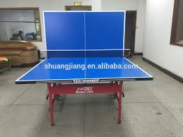 used outdoor ping pong table aluminum pannel outdoor table tennis table waterproof table tennis
