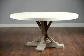 concrete top dining table round concrete coffee table best of on round 60 concrete and elm