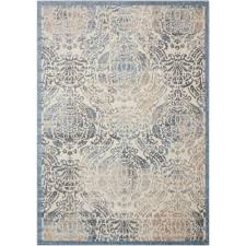 Graphic Area Rugs Nourison Graphic Illusions Sky 3 Ft 6 In X 5 Ft 6 In Area Rug