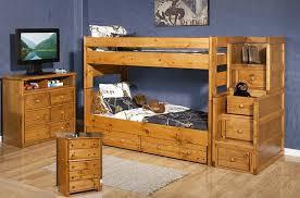 WRANGLER ENDS CINNAMON By Trendwood Park Home - Trendwood bunk beds