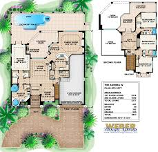 mediterranean house plan 2 story floor plan old world tuscan facade